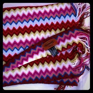 Missoni multi colored shawl/scarf